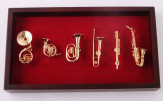 The magnet  copper musical instrument set