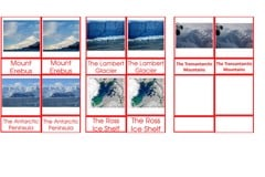 Materials Antarctic Landmarks Age 3to6