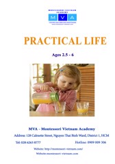 PRACTICAL LIFE - AGES 2.5 - 6