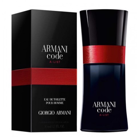 "NH 10 c - NƯỚC HOA nam HIỆU ""ARMANI code/POUR HOME "" 50ml - made in france"