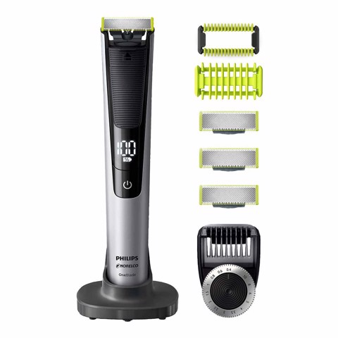 MẪU MỚI - Máy cạo râu Philips Norelco OneBlade Pro Face & Body Trimmer QP6620/70
