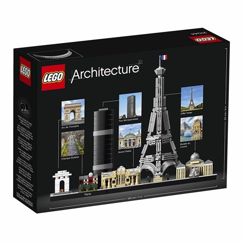 LEGO Architecture Skyline Collection - Paris Skyline Building Kit 21044 (649 mảnh)
