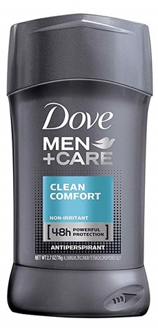 Sáp khử mùi nam Dove Men + Care Antiperspirant Clean Comfort Deodorant (76 gram - 2.7 oz)