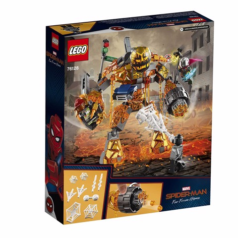 LEGO Marvel Spider-Man Far From Home -Molten Man Battle 76128 (294 mảnh)