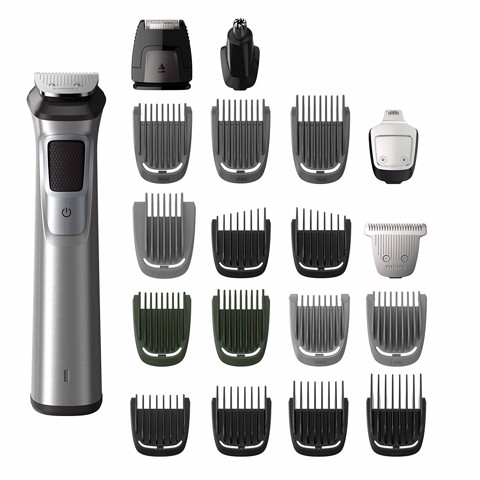 Máy cạo râu đa dụng Philips Norelco All-in-one trimmer, Multigroom (face, head & body) MG7790/40