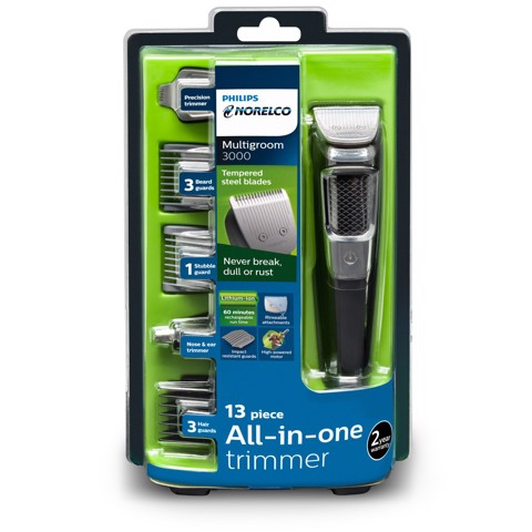 Máy cạo râu đa dụng Philips Norelco All-in-one trimmer, Multigroom 3000 MG3750/50