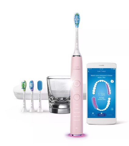 Bàn chải điện Philips Sonicare DiamondClean Smart Professional 9400 Series
