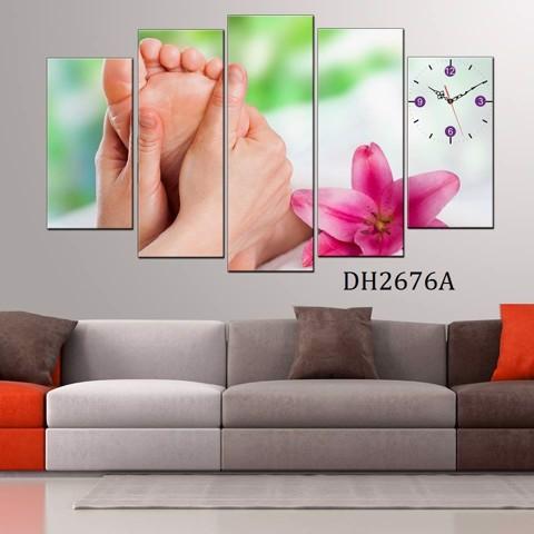 Kết quả hình ảnh cho tranh canvas trang trí spa - nail
