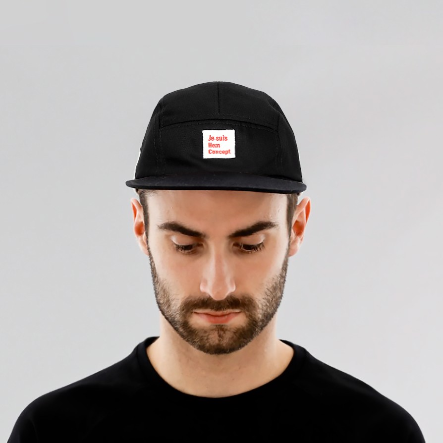 KIT CAMPER CAP - JET BLACK