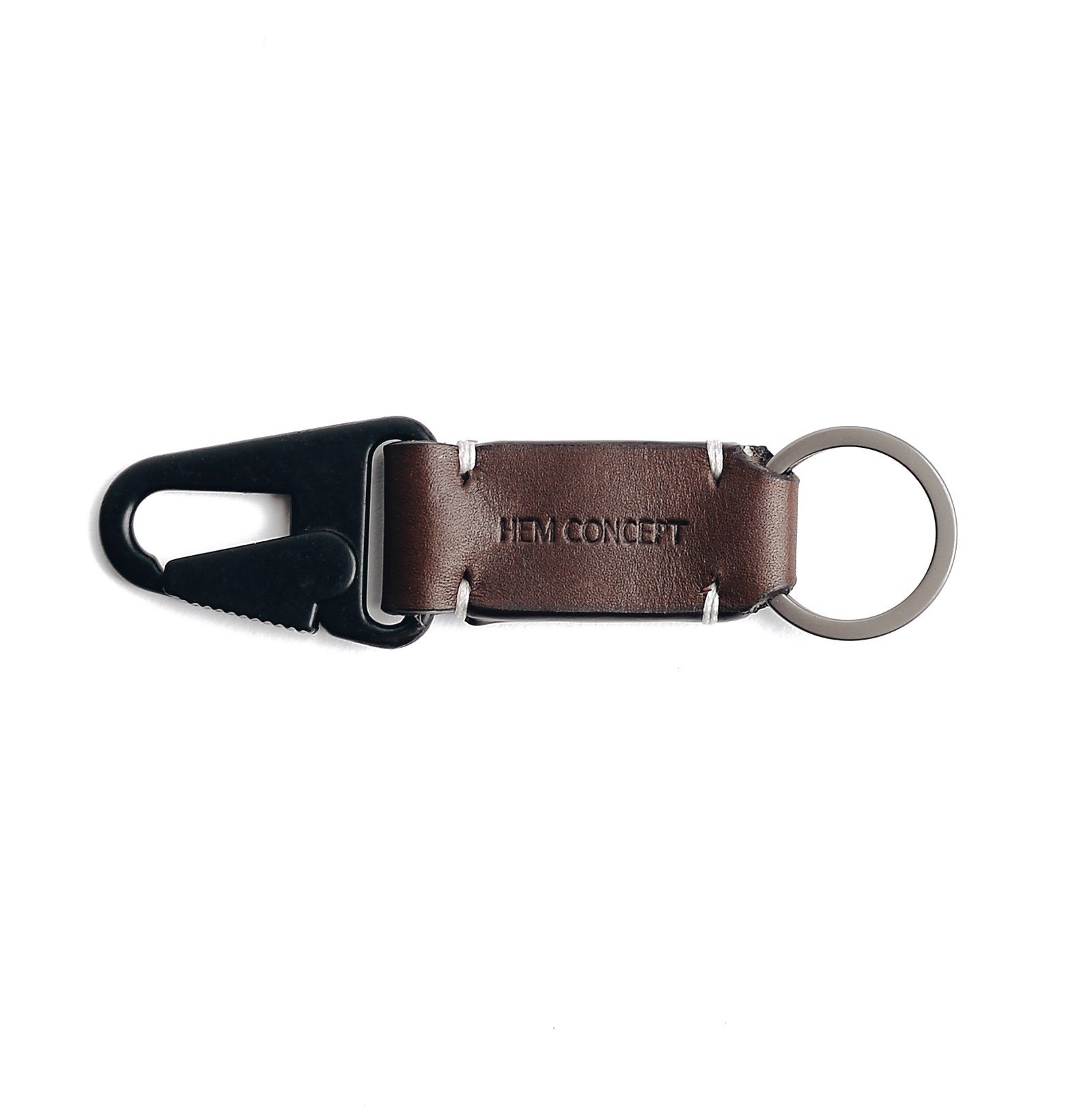 MIL KEYCHAIN S - BROWN