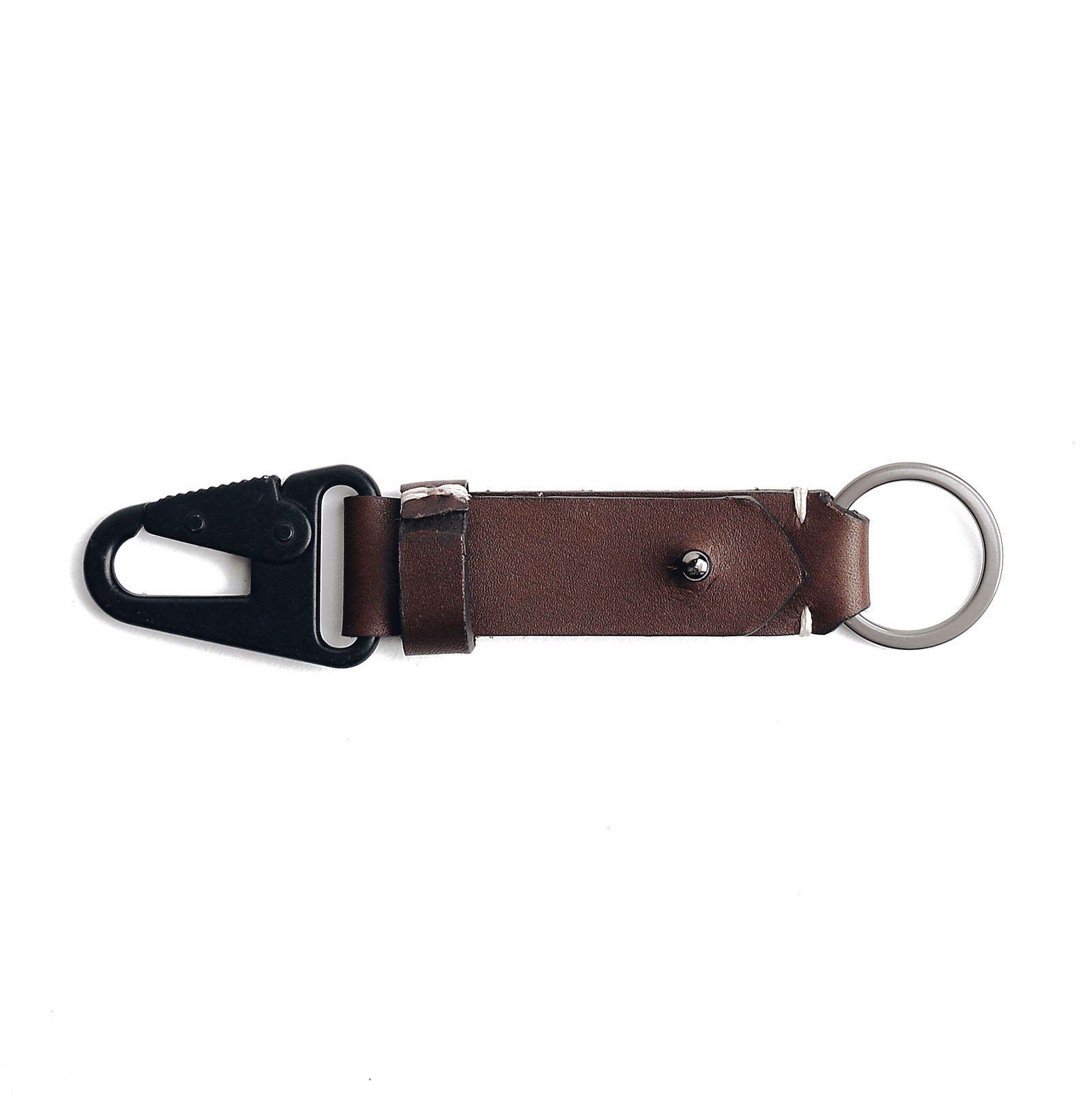 MIL KEYCHAIN M - BROWN