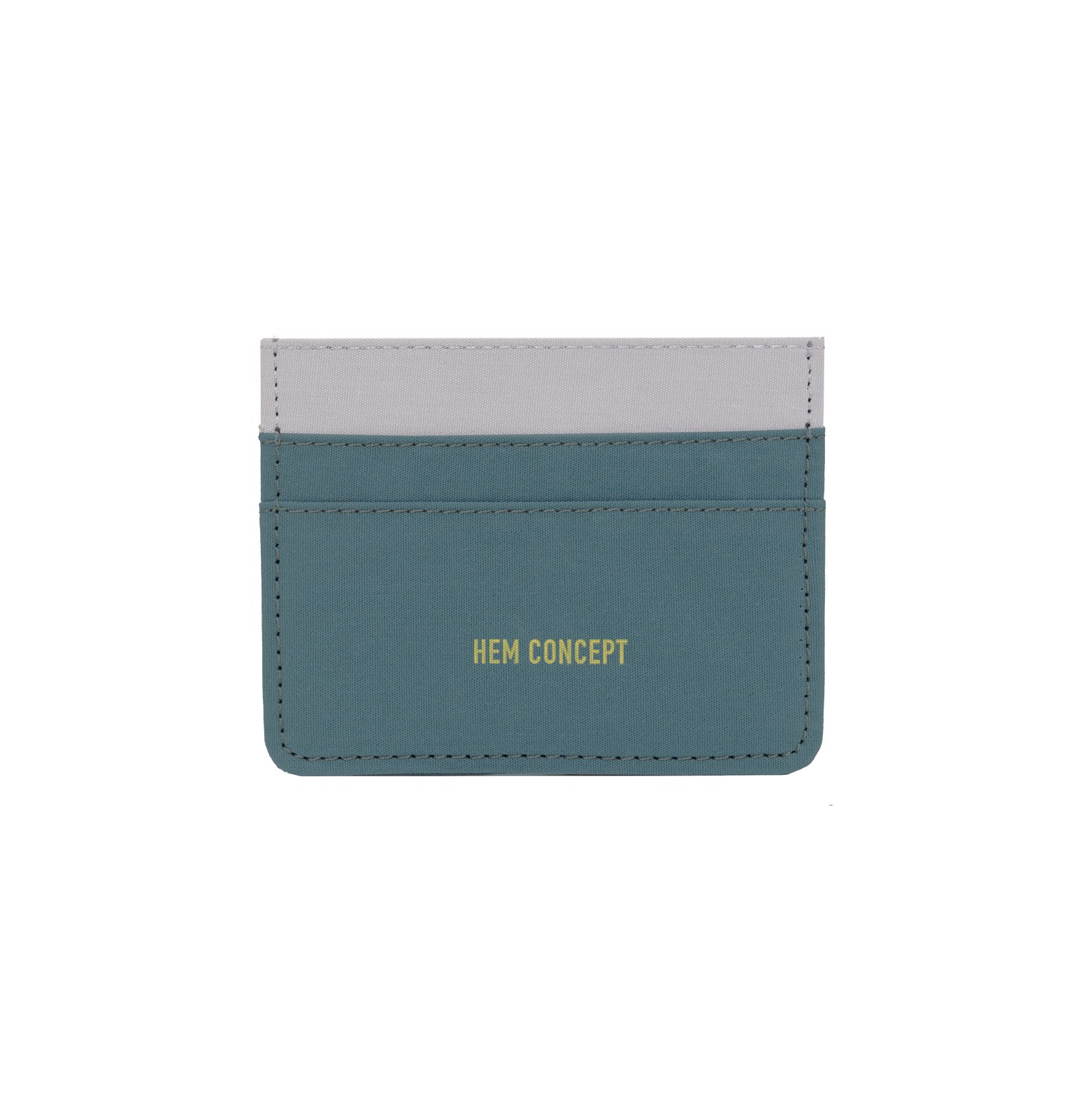 SLIM WALLET - JADE/GRAY