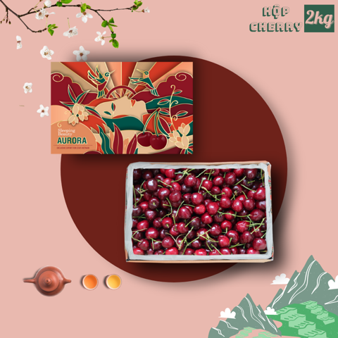 Hộp quà Cherry New Zealand 2kg