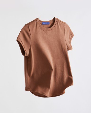 1990s T-shirt - Brown