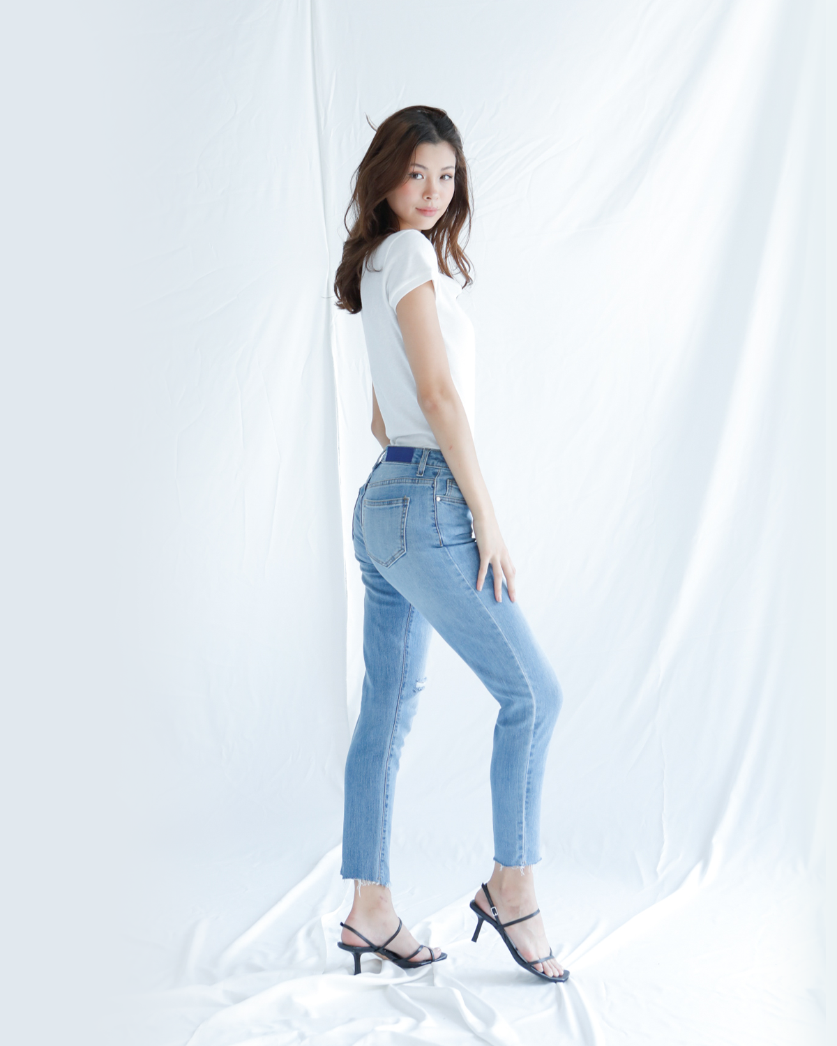 Off Duty Jeans - Light Blue