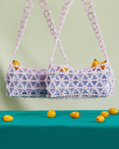 BEAD BAG WORLD - LILAC/ SMALL WORLD