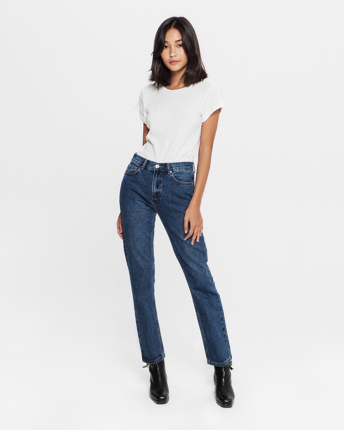 THE ON WAY JEANS - MEDIUM WASH
