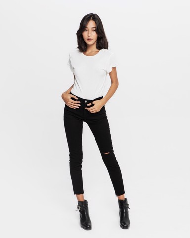 OFF DUTY JEANS - BLACK WASH