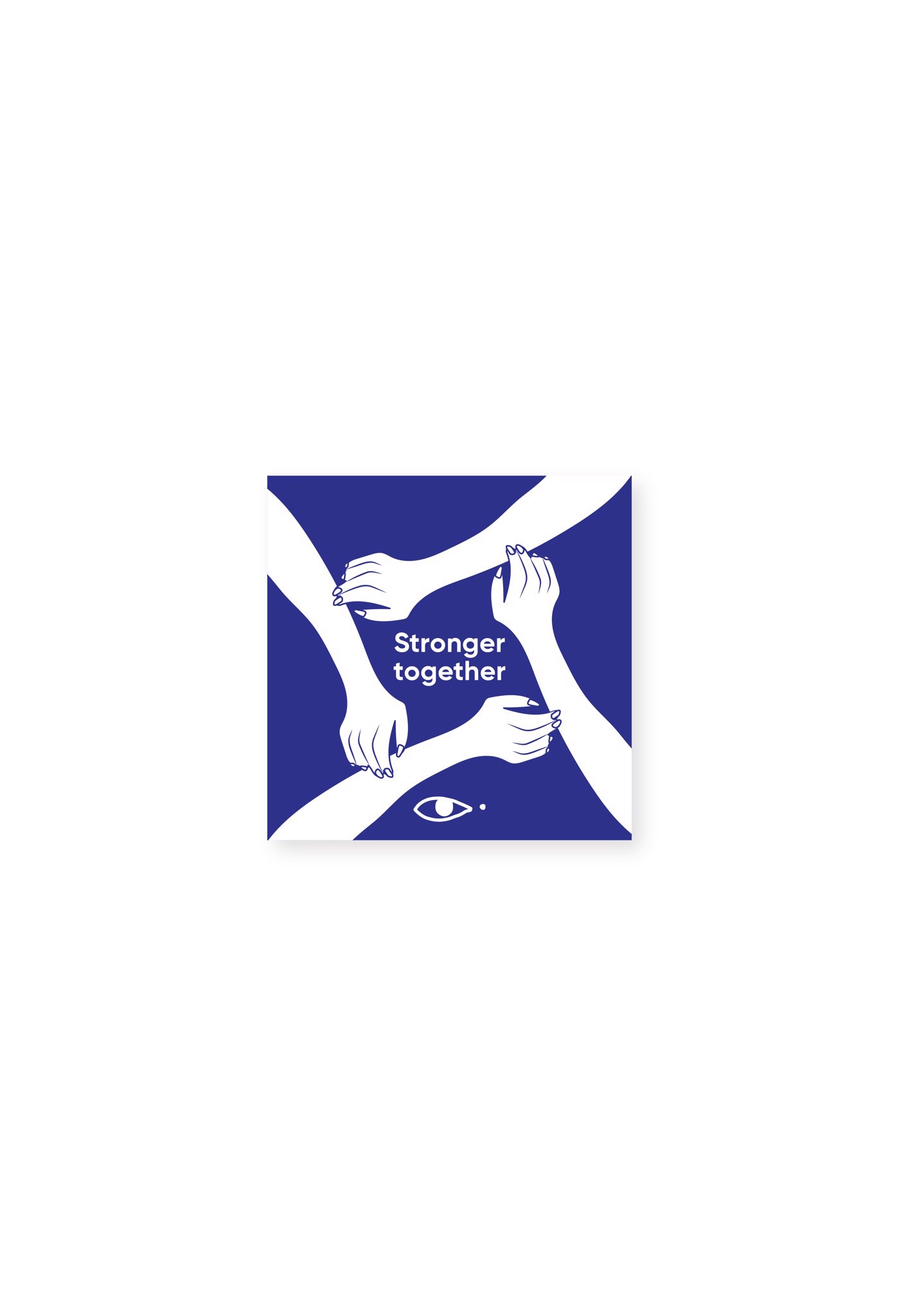 STRONGER TOGETHER STICKER