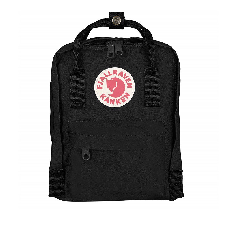 Balo Kanken Mini Black Fjallraven