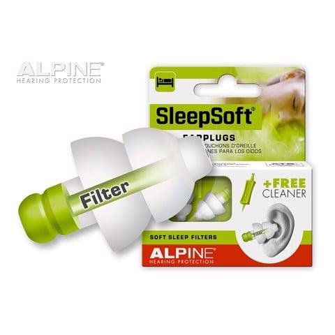 Bịt tai chống ồn giúp ngủ ngon Alpine Sleepsoft Hà Lan chính hãng