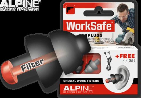 Nút tai chống ồn khi làm việc Alpine Worksafe Hà Lan chính hãng