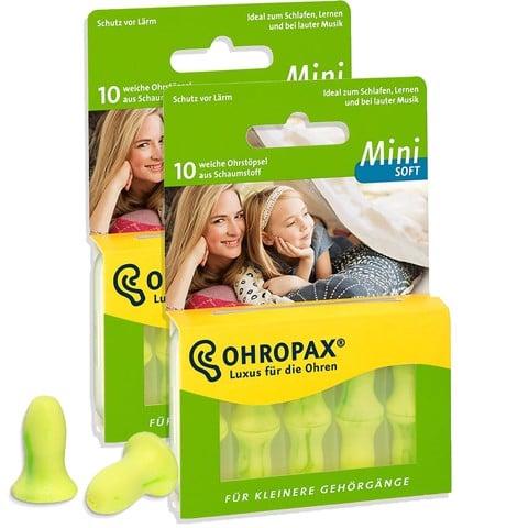 Bộ 5 bịt tai chống ồn Đức Ohropax Mini Soft nữ/trẻ em