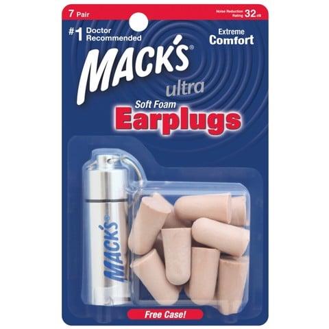 Bộ 7 bịt tai chống ồn Mỹ Mack's chính hãng nam/nữ