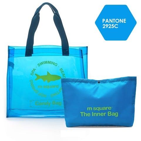 Túi đi biển trong suốt chống nước Bag In Bag Msquare