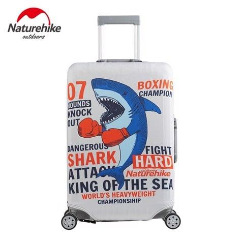 Vỏ bọc vali hành lý Naturehike S M L XL Cá Mập