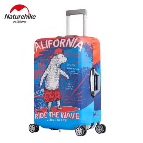 Bọc vali Naturehike S M L XL Gấu Trắng