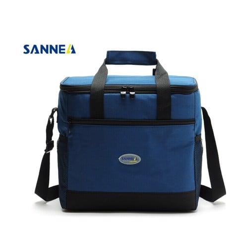 Túi giữ nhiệt hộp cơm Sannea CL1073 Xanh Than