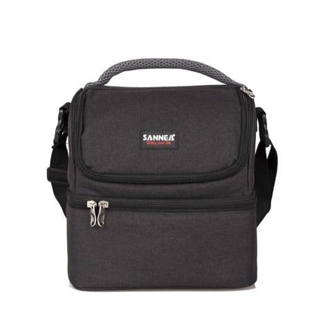 Túi đựng hộp cơm văn phòng Sannea CL1526 Đen