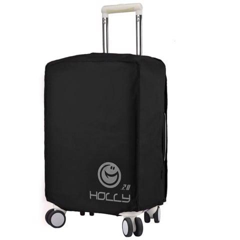 Túi bọc vali Holly 2 lớp màu đen