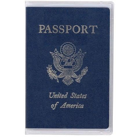 Bao passport ví đựng hộ chiếu PVC trong suốt