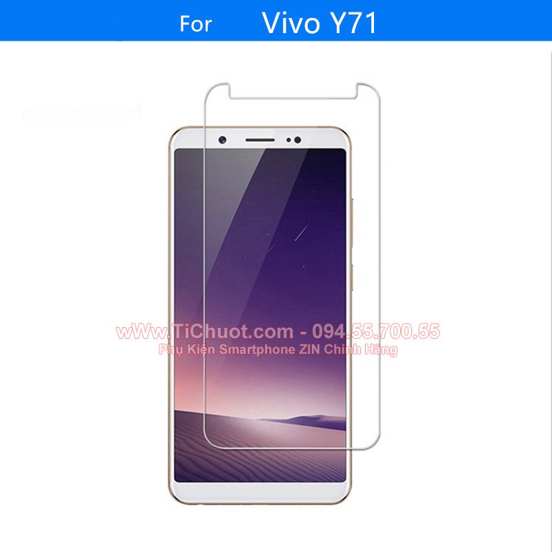 Kính CL VIVO Y71 (Ko Full)