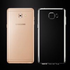 Ốp lưng Samsung Galaxy C9 Pro Silicon Dẻo trong suốt