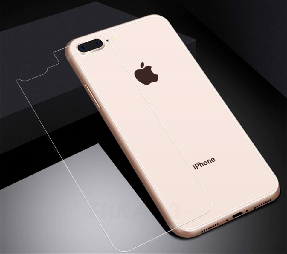Kính CL iPhone 8 Plus MẶT SAU - KO FULL, 9H-0.26mm
