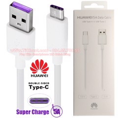 Cáp Huawei Type-C Super Charge 5A FULLBOX Huawei Store