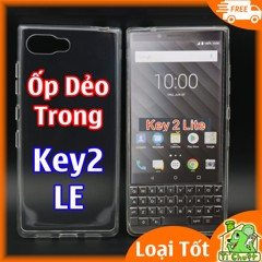Ốp lưng BlackBerry Key2 LE Lite Edition Silicon Loại Tốt Dẻo Trong suốt