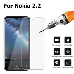 Kính CL Nokia 2.2 2019 - KO FULL, 9H-0.26mm