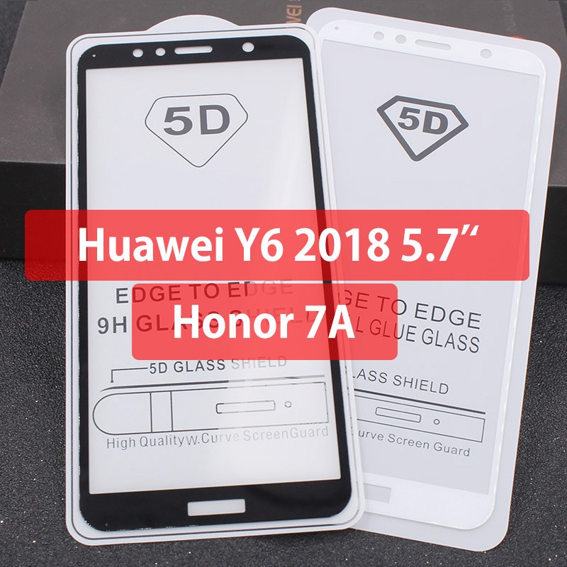 Kính CL Huawei Y6 Prime 2018/ Honor 7A FULL Màn,FULL KEO Silicon
