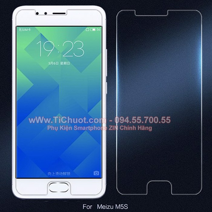 Kính CL Meizu M5, M5s, M6 - KO FULL, 9H-0.26mm