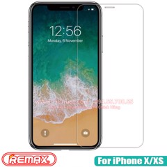 Kính CL iPhone 11 Pro/ X/ XS REMAX mỏng 0.15mm - KO FULL, 9H-2.5D