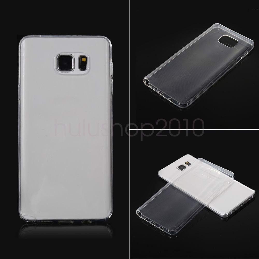 Ốp lưng Samsung Note 5 Silicon Loại Tốt Dẻo trong suốt
