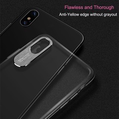 Ốp lưng iPhone X/ XS Sparkling ToTu cứng trong suốt