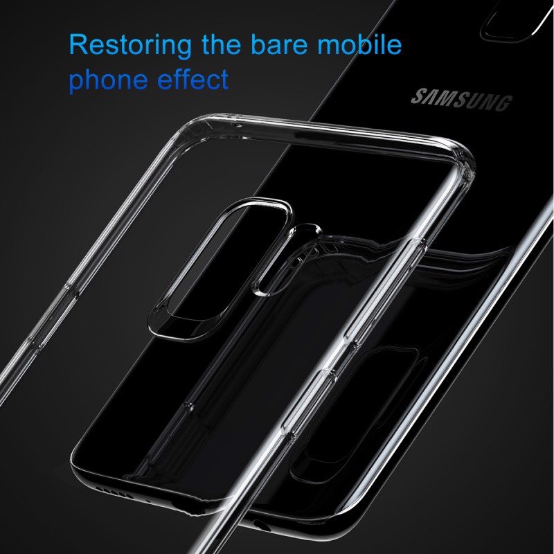 Ốp lưng SAMSUNG S9 Baseus Simple dẻo trong chống sốc