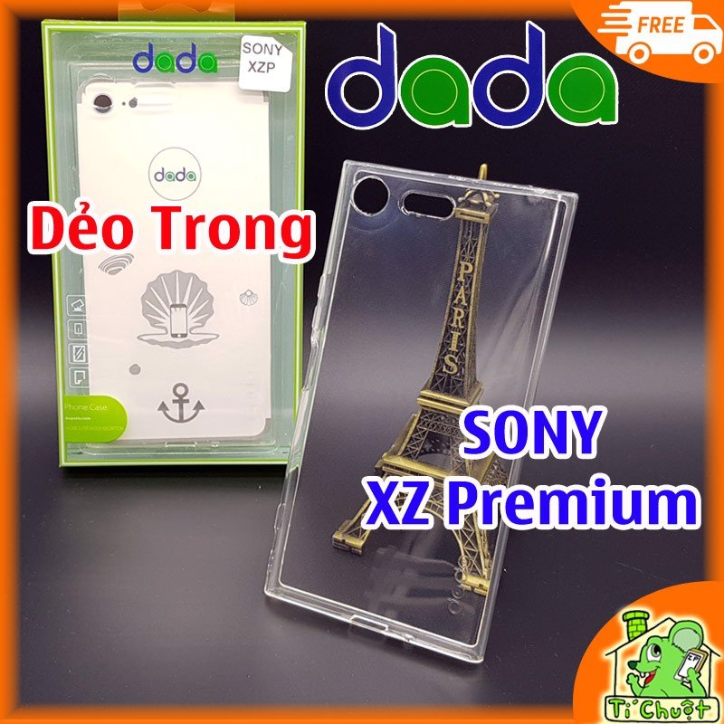 Ốp lưng SONY XZ Premium Dada Dẻo Trong suốt