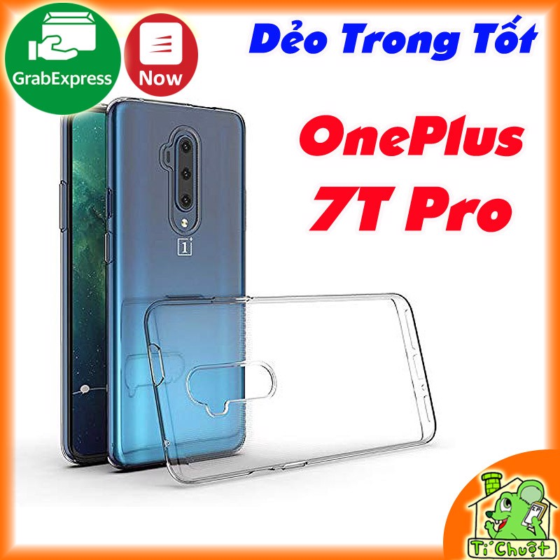 Ốp lưng OnePlus 7T Pro Dẻo Trong Suốt Loại Tốt