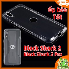 Ốp lưng Xiaomi Black Shark 2 Silicon Loại Tốt Dẻo trong suốt